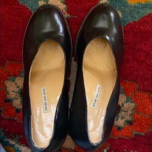 Dries Van Noten black gorgeous heels